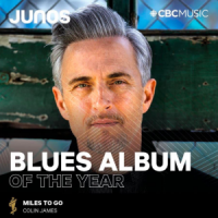 Colin James wins Blues Album of the Year at Juno Awards