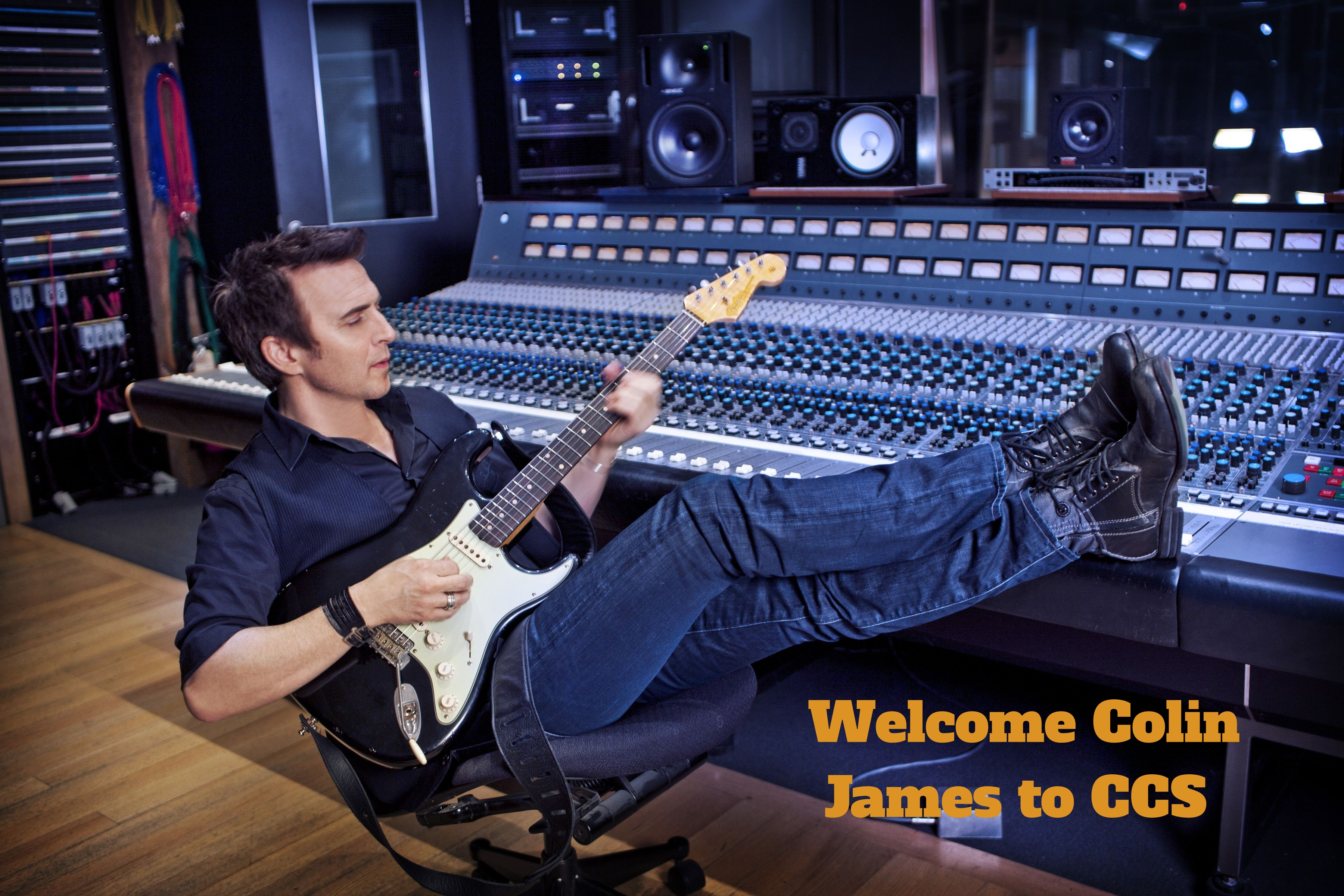 Welcome Colin James to the CCS Family!